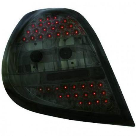 SET DE DEUX FEUX ARRIERE LED DESIGN RENAULT CLIO (05-09) - NOIR