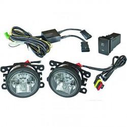 SET DE DEUX FEUX ANTIBROUILLARD AVANT A LED - VOIR MODELES EN DESCRIPTION - AVEC FEUX DE JOURS
