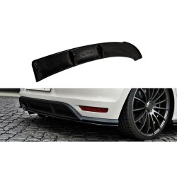 ARRIÈRE SPLITTER VW POLO MK5 GTI APRES FACELIFT (AVEC UNE BARRE VERTICALE)