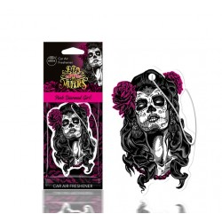 DESODORISANT AUTO - AROMA - MUERTOS PINK DIAMOND GIRL - CAR AIR FRESHENER
