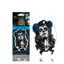 DESODORISANT AUTO - AROMA - MUERTOS BLUE DIAMOND GIRL - CAR AIR FRESHENER