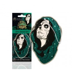 DESODORISANT AUTO - AROMA - MUERTOS GREEN DIAMOND GIRL - CAR AIR FRESHENER