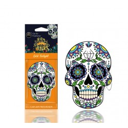 DESODORISANT AUTO - AROMA - MUERTOS GOLD TATOO - CAR AIR FRESHENER