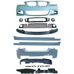 KIT COMPLET LOOK M PERFORMANCE BMW SÉRIE 5 F10 BERLINE (10-13) PARE CHOC AVANT-ARRIÈRE-BAS DE CAISSE