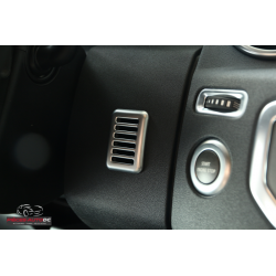 Microphone à visière à cadre chromé pour Land Rover Discovery 4 L319