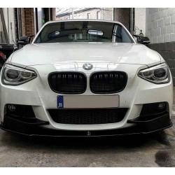 LAME DE PARE CHOC AVANT PERFORMANCE BMW SERIE 1 F20 F21 (11-15) - UNIQUEMENT PACK M - MOD2