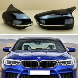 Set de 2 coques de rétroviseurs look M5 M7 M8 pour BMW Série 5 G30 G31 -Série 8 G14 G15