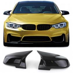 Coques rétroviseurs look carbone M3 M4 pour BMW Série 1 F20 F21-Série 4 F32 F33 F36 - Série 3 F30 F31-Série 2 F22 F23