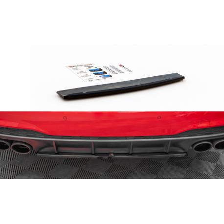 CENTRAL ARRIERE SPLITTER AUDI A7 C8 S-LINE - MAXTON DESIGN