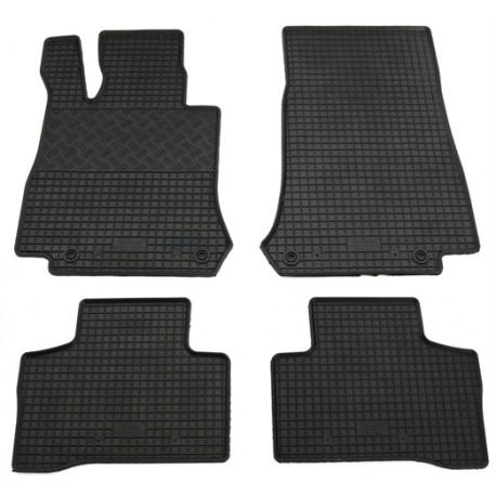 caoutchouc Tapis de sol pour Mercedes GLC-Classe 4 MATIC motrices c25360 3d-tpe Design
