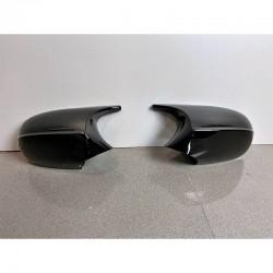 Coques rétroviseurs noir brillant M3 M4 pour BMW Série 1 E81 E82 E87 E88 - Série 3 E90 E91 E92 E93