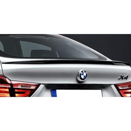 SPOILER DE COFFRE LOOK X4M POUR BMW X4 F26 (14-18) NOIR BRILLANT