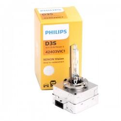 AMPOULE XENON PHILIPS D1S VISION 85V 35W - 4300k