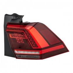 Feux arrières look LED rougé fumé VW Tiguan 5N (11-15)