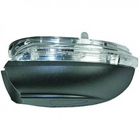 BAS DE RETROVISEUR DROIT VW GOLF VI (08-12) + AUSSI GTI/GTD (08-12) - AVEC CLIGNOTANT - LAMPE SOUS RETRO
