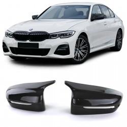 Set de 2 coques de rétroviseurs look M3 pour BMW Série 3 G20 G21 (18-21) - LOOK CARBONE