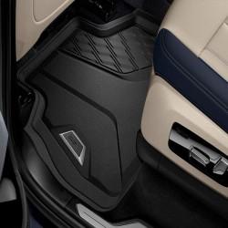 TAPIS DE SOL AVANT D'ORIGINE BMW POUR BMW X5 G05 (18-21) - CAOUTCHOUC