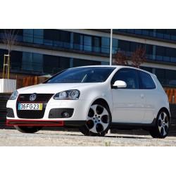 SPOILER - BAS  - LAME DE PARE CHOC AVANT VW GOLF 5 - V (03-08) - PAS POUR GTI
