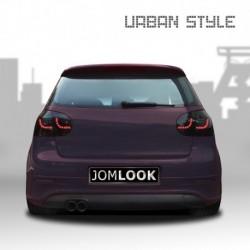 Feux arrière, LED, VW Golf 5 (03-08) Urban style two, noir avec clignotant dynamique