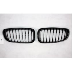 SET DE DEUX CALANDRES NOIR BRILLANTE POUR BMW SÉRIE 3 GT F34 (13-18)