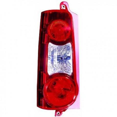 feu arriere droit citroen berlingo 08 12 peugeot partner 08 12 rouge blanc double. Black Bedroom Furniture Sets. Home Design Ideas