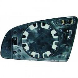 GLACE DE RETROVISEUR DROIT AUDI A3 8P (03-08) + A4 B6 B7 8E (00-07) + A6 4F (04-08) - CHAUFFANT