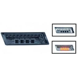 SET DE DEUX CLIGNOTANT DESIGN AILE AUDI A3 (03-08) + A4 (00-07) + A6 (97-04) - LED - NOIR - AVEC FEUX DE JOURS