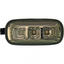 SET DE DEUX CLIGNOTANT DESIGN AUDI A4 B6 (01-07) + S4 - MOD 3 -LED - FUME