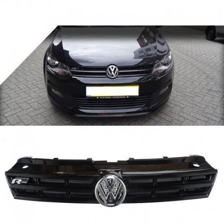 Grille de calandre avant noire Volkswagen Polo 09-14
