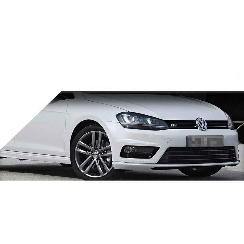 pare choc avant look r line vw golf 7 12 16 complet avec anti brouillards autodc. Black Bedroom Furniture Sets. Home Design Ideas