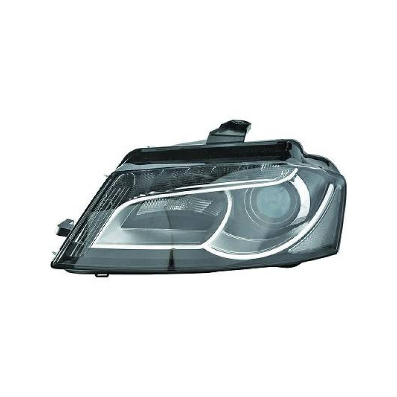 phare avant xenon droit led audi a3 8p 08 12 xenon d3s depo tyc avec clignotant. Black Bedroom Furniture Sets. Home Design Ideas