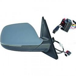 RETROVISEUR DROIT COMPLET AUDI Q5 8R (08-12) - 8 PIN  - ELECTRIQUE - CHAUFFANT - AVEC CLIGNOTANT
