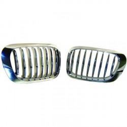 SET Calandre chrome - grille pour BMW E46 (99-03) Coupé - Cabriolet - Phase 1