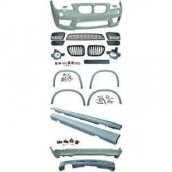 Kit complet look pack M pour BMW X1 E84 (09-12) Pare-chocs avant-arrière-bas de caisse