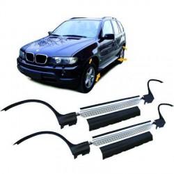 Set 2 marche-pieds - bas de caisses pour BMW X5 E53 (99-07) Complet