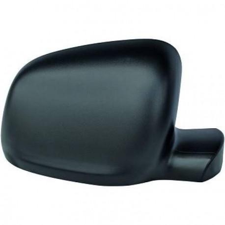 coque de retroviseur gauche renault kangoo 13 17 noir autodc. Black Bedroom Furniture Sets. Home Design Ideas
