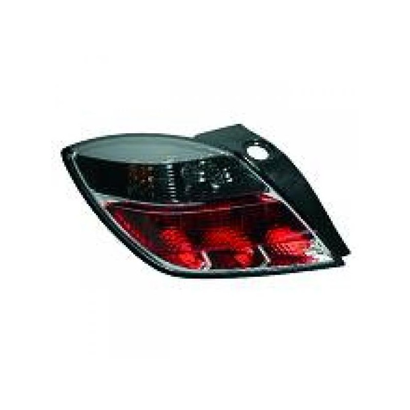 feu arriere droit opel astra h 04 09 3 portes gtc sans porte ampoule rouge clignotant. Black Bedroom Furniture Sets. Home Design Ideas