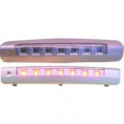TROISIEME FEU STOP ARRIERE OPEL ASTRA H 5 PORTES (04-09) - A LED - CHROME