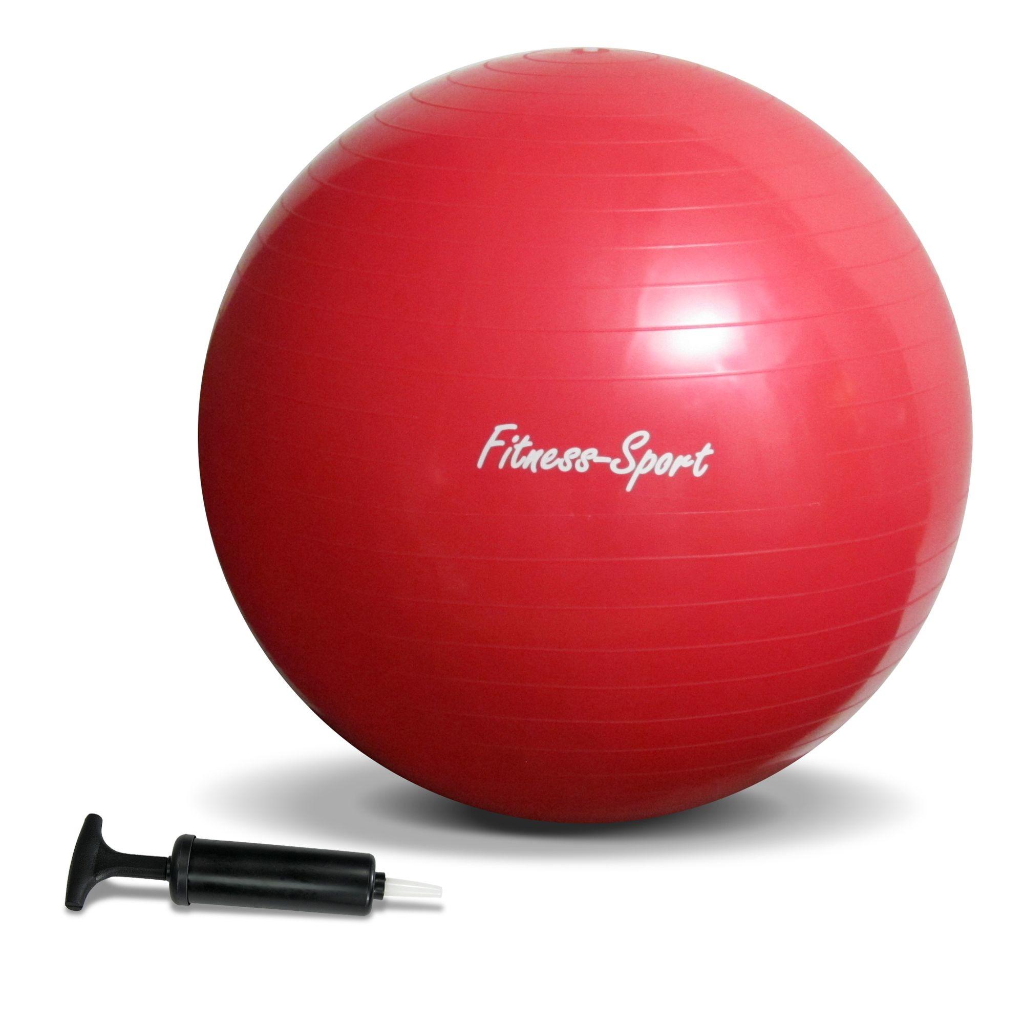 un ballon de gymnastique jom 127164 neuf couleur: rouge, jusqu'à 300