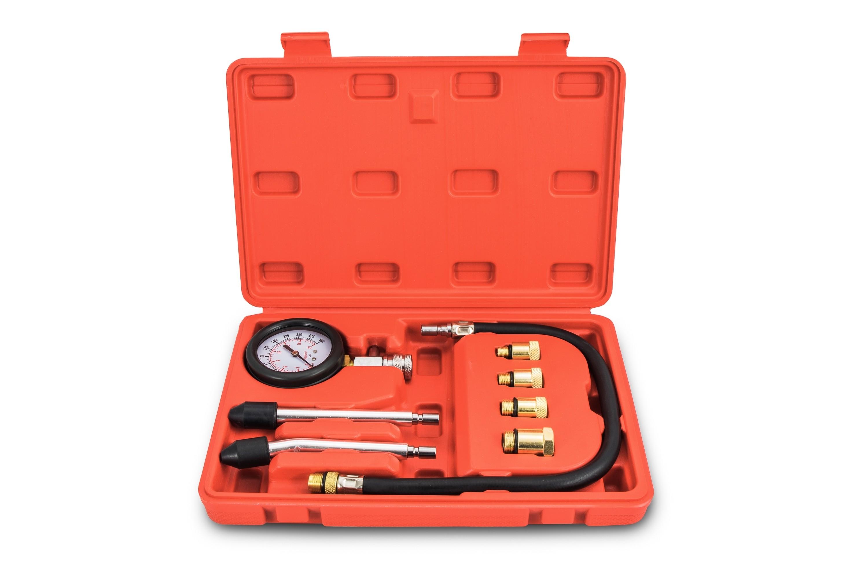 Kit compressiomètre pour moteur essence.