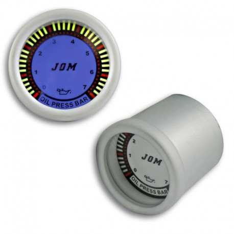 Manomètre, pression d'huile, design Plasma