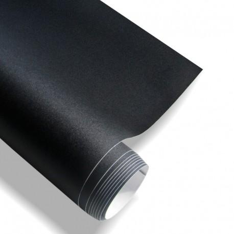 Film adhésif noir mat, 152 x 200 cm, pour l'usage à l'intérieur et à l'extérieur, autocollant, PVC
