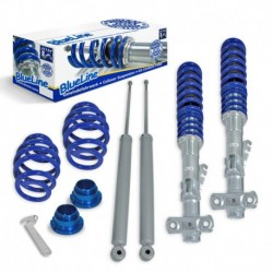 Kit suspension combiné fileté BMW E36 4+6 Zyl. incl. Touring, BlueLine, AV 40-80 / AR 30-60 mm, fileté / ressort