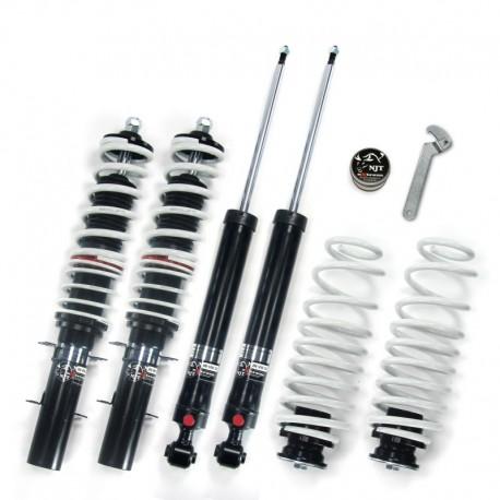 JOM NJT eXtrem kit combiné fileté réglable en hauteur et en dureté VW Golf IV/ Bora + Variant (97-04)  fileté/ressort