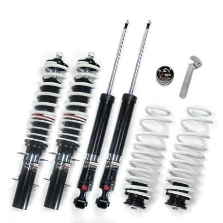 NJT eXtrem kit combiné fileté, réglable en hauteur et en dureté, Seat Leon/ Toledo (1M), fileté/ressort
