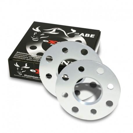 Élargisseurs de voie, 10mm 4/100/108, Audi/BMW/Seat/Skoda/VW, NLB 57,1 mm
