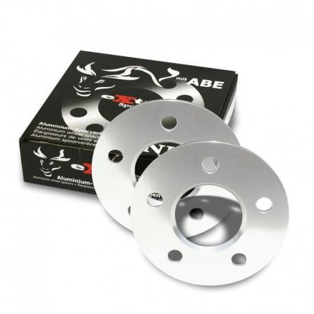 Élargisseurs de voie, 10mm 5/112, Audi/Mercedes/VW, NLB 66,6 mm