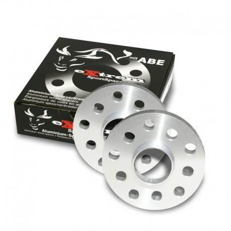 Élargisseurs de voie, 40mm 5/100/112, Audi/Bentley/Chrysler/Ford/Seat/Skoda/VW, NLB 57,1 mm, avec bague de centrage