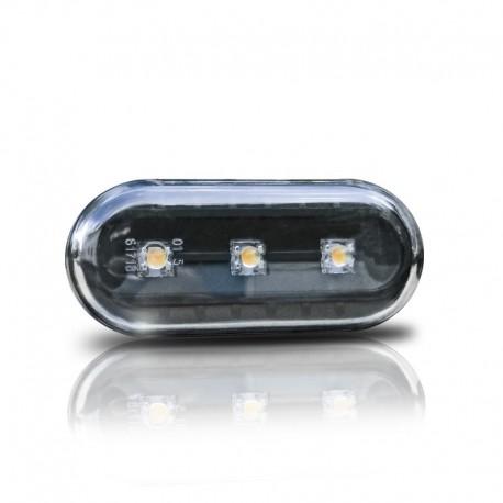 Répétiteurs, LED, noir, VW Golf 3/4, Vento 96-, Lupo, Passat B5, Polo 2000-, Leon