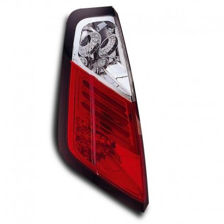 Feux arrière, LED, Fiat Punto 05- (type 199), clair/rouge
